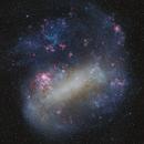 Large Magellanic Cloud (Two Panel Mosaic),                                Frank Breslawski