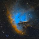Pacman Nebula SHO,                                Albert van Duin