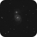 Whirlpool Galaxy taken from MicroObservatory,                                Andy