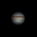 Jupiter 2019-08-25. Jupiter RGB. GRS transit.,                                Pedro Garcia