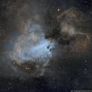 Messier 17, the Omega nebula,                                Todd Fleischmann
