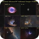 """Nothing New - just a 2020 compilation of the images taken with the 6"""" Celestron Refractor,                                Uwe Deutermann"""