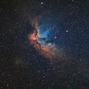 NGC7380 wizzard Nebula,                                Doug.,N. Jiang