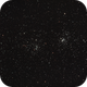 Double cluster in Perseus only 18' exp integration / Canon 600D + SW 80ED PRO / SW EQM-35 / 800 ISO,                                patrick cartou
