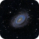 NGC 4725,                                KuriousGeorge