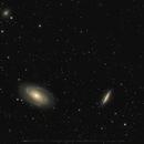 M81 & M82 & NGC3077 28,5h but...,                                Christian Höferlin