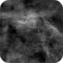 Propeller Nebula, Ha,                                Stephen Garretson