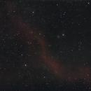 Barnards loop & M78 Canon FD200mm,                                Christiaan Berger