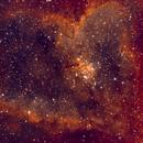 IC1805 - The Heart Nebula,                                LarryDoucet