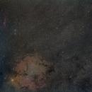Elephant trunk nebula region  -  IC1396,                                Mario Gromke