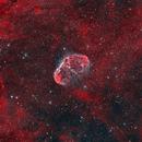NGC 6888 - Crescent Nebula - HOO,                                Yannick Akar