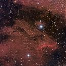 Pelican Nebula,                                JD