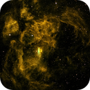 NGC 6357 - The Lobster Nebula,                                Wissam_Astrophoto...