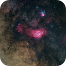 Messier 8, Simeis 188 & Messier 20,                                Michael Hoppe