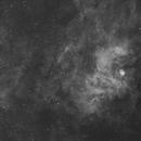 """NGC 6604 """"Manta ray looking nebula"""",                                keithlt"""