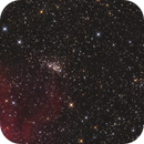 Open Clusters NGC 7510 and King 19 in Cep,                                GJL