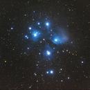 昴星团(Pleiades)m45,                                zhengyinjie