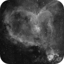 Heart Nebula in HA,                                georgian82