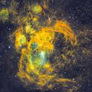 Praying Mantis Nebula (aka Lobster aka War and Peace ect) NGC6357,                                robonrome