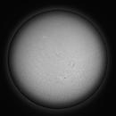 Sun in H-Alpha - 2020.11.23 (Full disk),                                Arne Danielsen