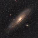 M31 - Andromeda Galaxy,                                astrotaxi