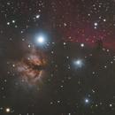 NGC2024, Flame Nebula and Horse Head Nebula,                                Björn Arnold