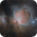 Orions Sword: M42, M43 and Runnning Man NGC 1977,                                Wirrkopf