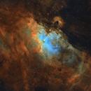 Eagle Nebula M16 in SHO,                                raguramm