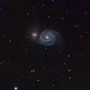 Whirlpool-Galaxie M51,                                Stephan Reinhold