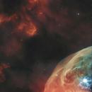 Bubble Nebula - NGC-7635 Hubble Space Telescope,                                Jim Matzger