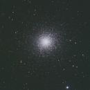 M13  Hercules Cluster,                                starfield