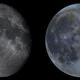 Moon 9 panel Mosaic,                                Bert Scheuneman