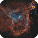 A wide field image of the Heart and Soul Nebulae,                                Sendhil Chinnasamy