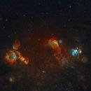 Nebulosas en la Gran Nube de Magallanes,                                Rodrigo González Valderrama