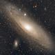 Great Andromeda Galaxy - work in progress :),                                Veljko Petrović