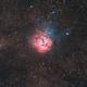 M20 - Trifid Nebula in HaRGB,                                Orestis Pavlou