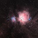 M42 Orion Nebula and Dusty Surroundings (Theli v1 LRGB),                                Martin Junius