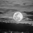Full Moon in Sep. 08, 2014 - Greyscale,                                Odilon Simões Corrêa