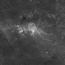 Statue of Liberty Nebula (HA Narrowband version),                                Diego Cartes