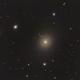 M87 Elliptical Galaxy w Relativistic Jet,                                niteman1946