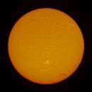 Full Disk of Sun on June 9, 2020,                                Chappel Astro