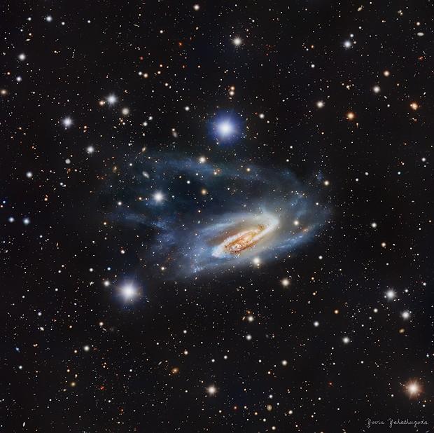 NGC 3981 - Spiral Galaxy,                                Yovin Yahathugoda