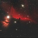 the Horsehead nebula,                                Steve Coates