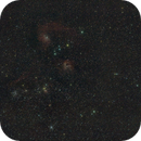 IC410 and Flaming star widefield,                                Janos Barabas
