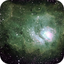 M8 The Lagoon Nebula,                                 degrbi