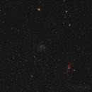 M52 and Bubble Nebula,                                Arno Rottal