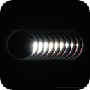 Baily's Bead before C2, 2nd July 2019 total solar eclipse,                                Vincent Bchm