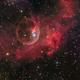 Bubble Nebula from Liverpool Telescope,                                Miles Zhou