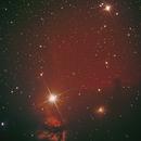 Flame nebula & horse head nebula near Alnitak,                                Günther Dick