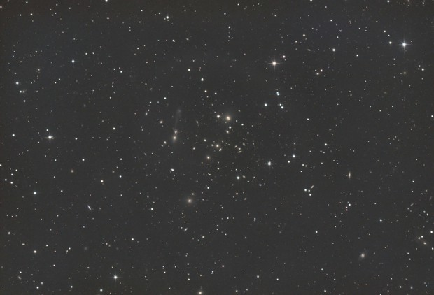 """NGC 3561 """"The Guitar"""", Arp 105, Abell 1185,                                CCDMike"""